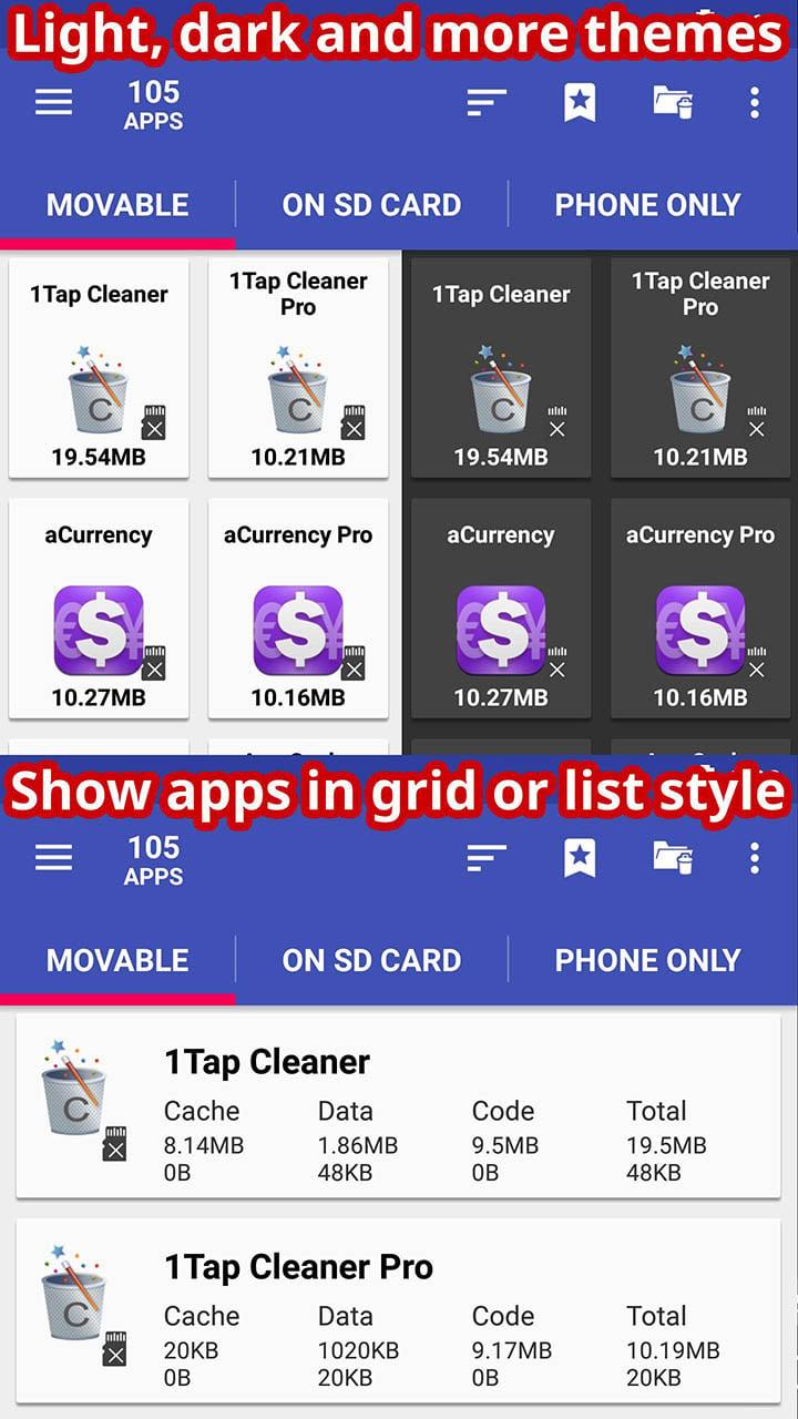 AppMgr III screen 4
