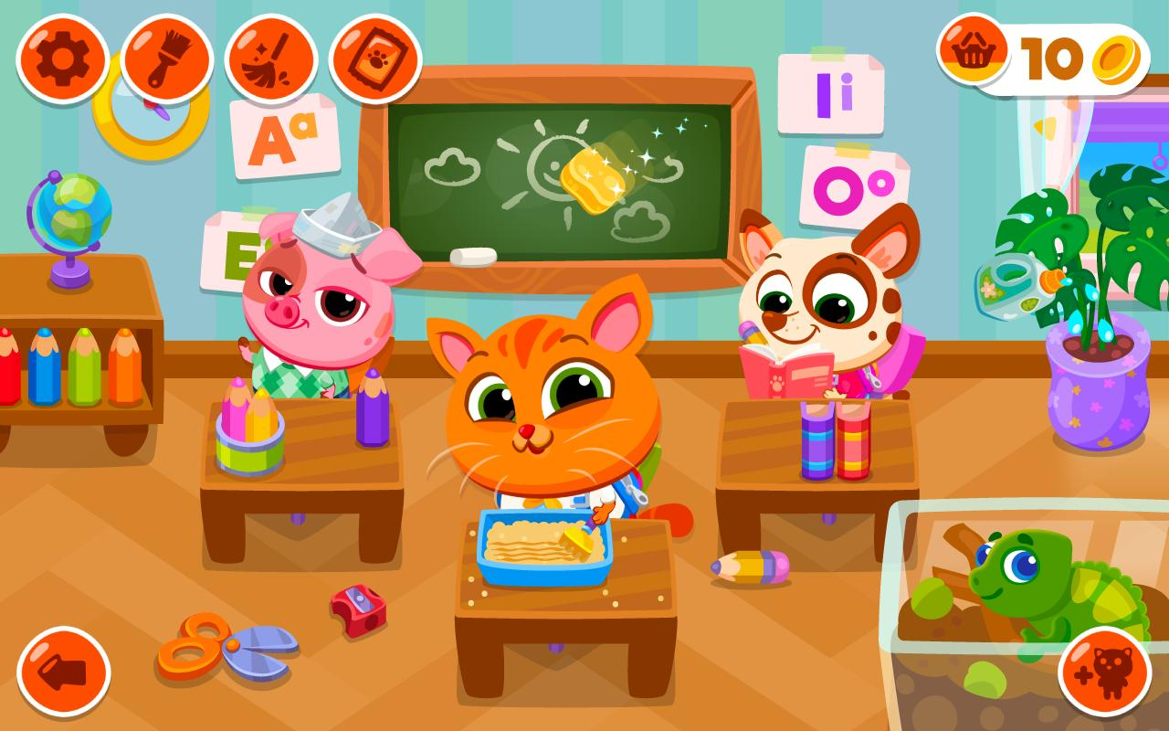 Bubbu School screen 6