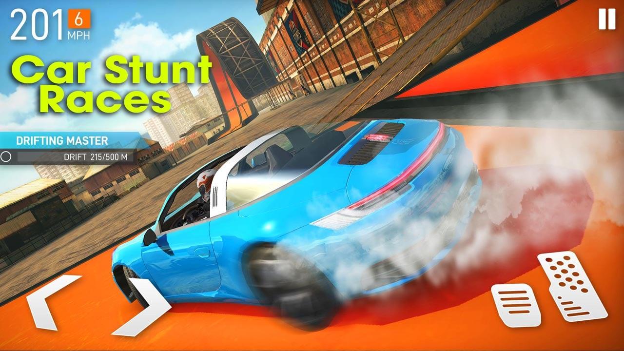 Car Stunt Races poster