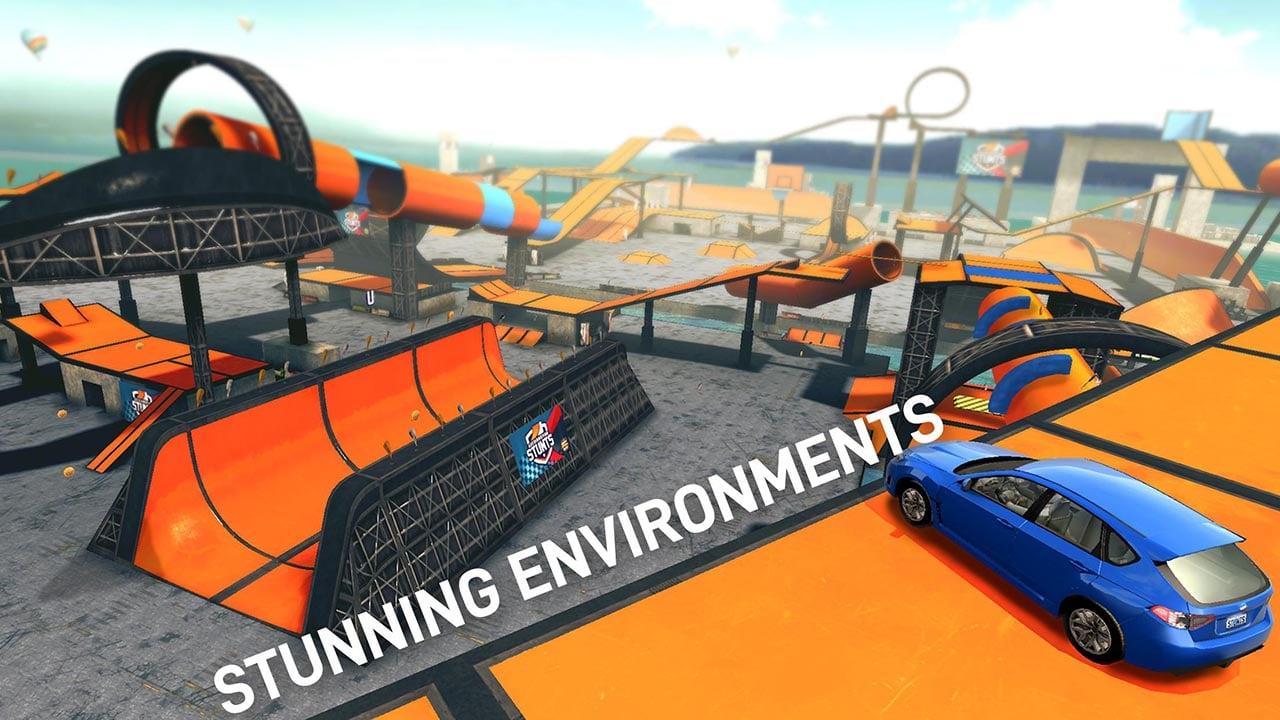 Car Stunt Races screen 2
