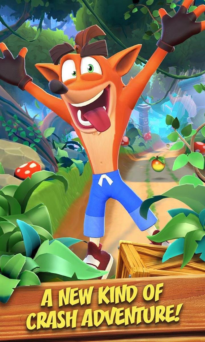 Crash Bandicoot On the Run screen 0