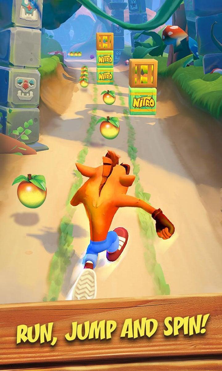 Crash Bandicoot On the Run screen 2