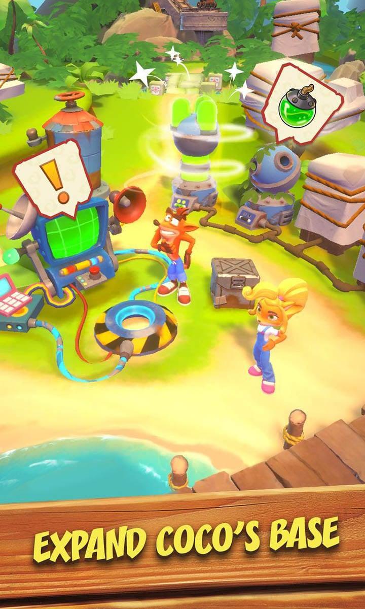 Crash Bandicoot On the Run screen 3