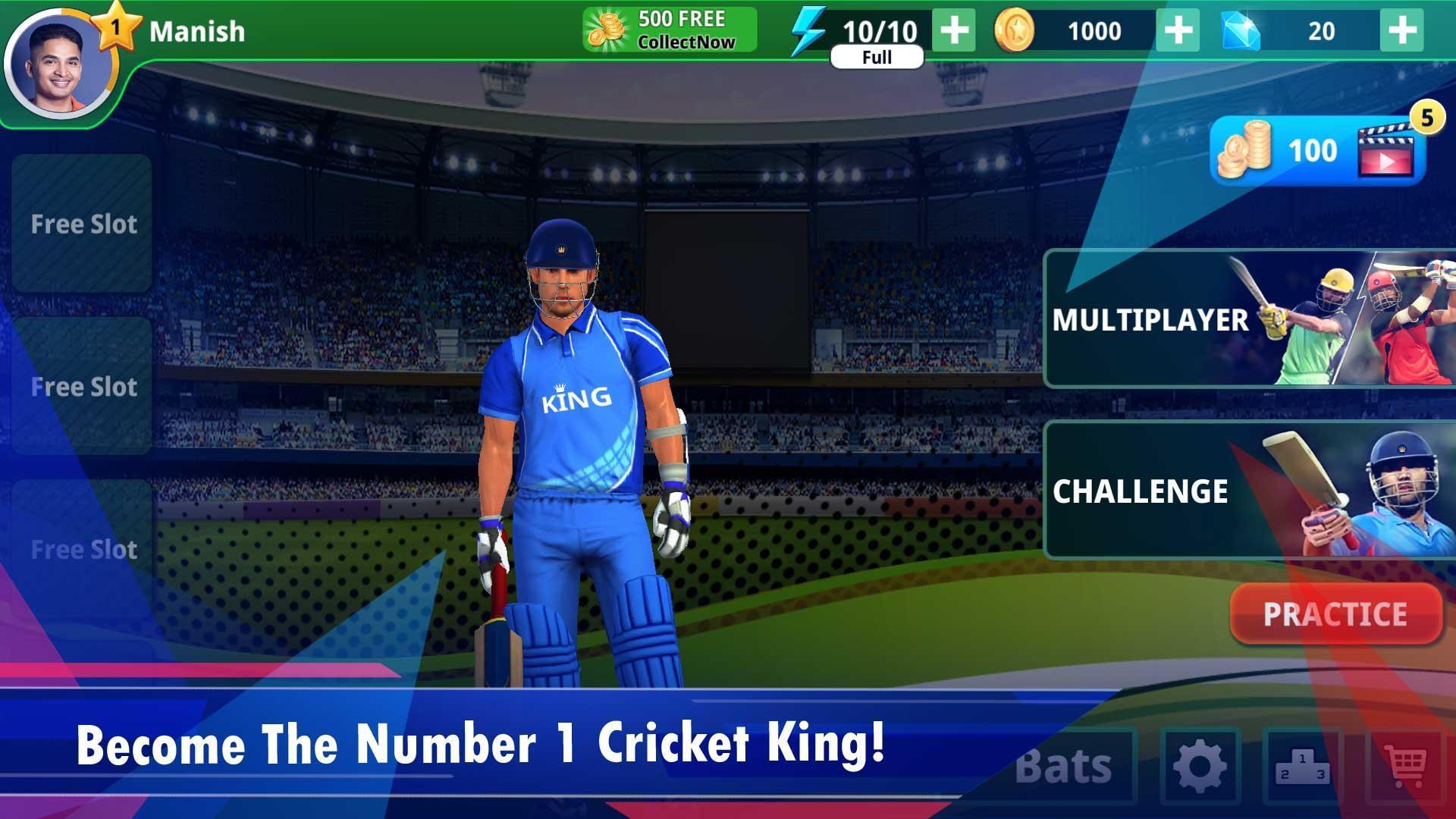 Cricket King screen 1