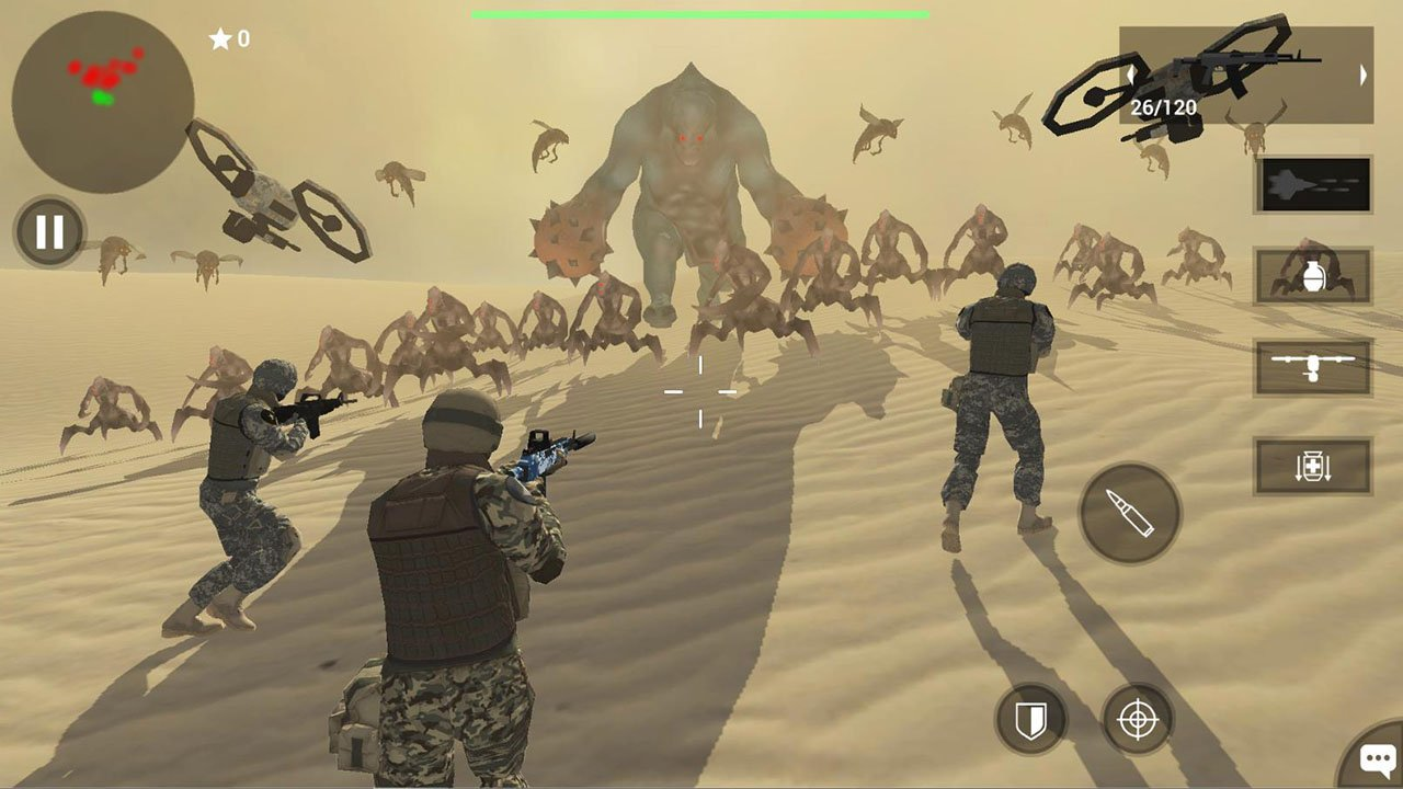 Earth Protect Squad screen 0