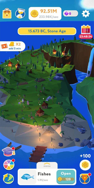 Evolution Idle Tycoon screen 4