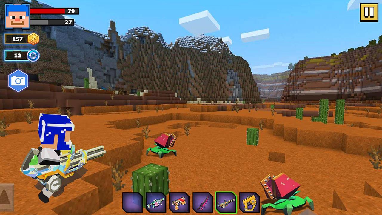 Fire Craft 3D Pixel World screen 2