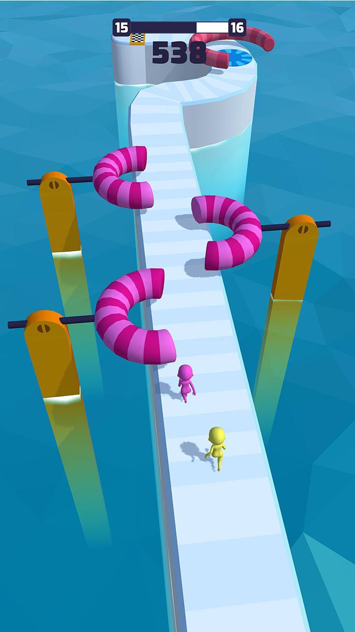 Fun Race 3D screen 0