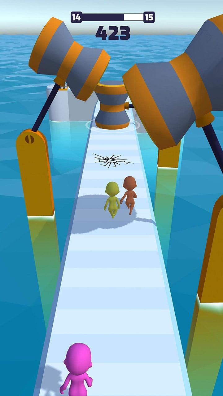 Fun Race 3D screen 1