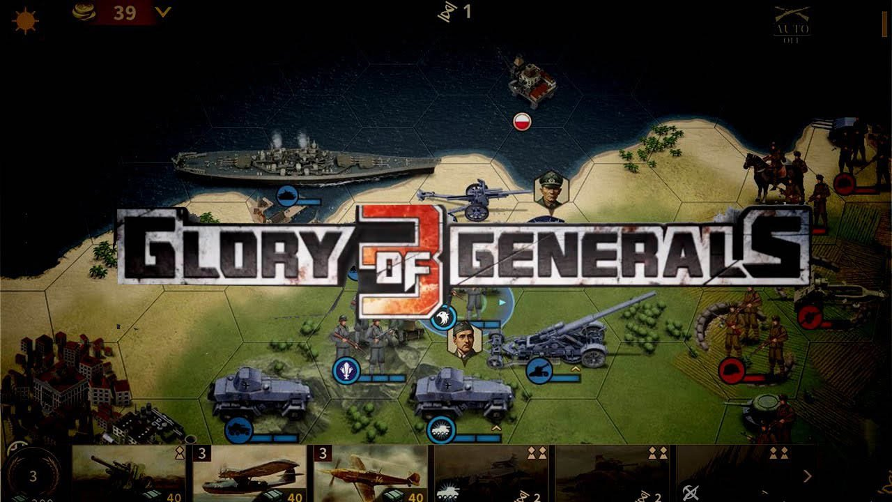 Glory of Generals 3 poster