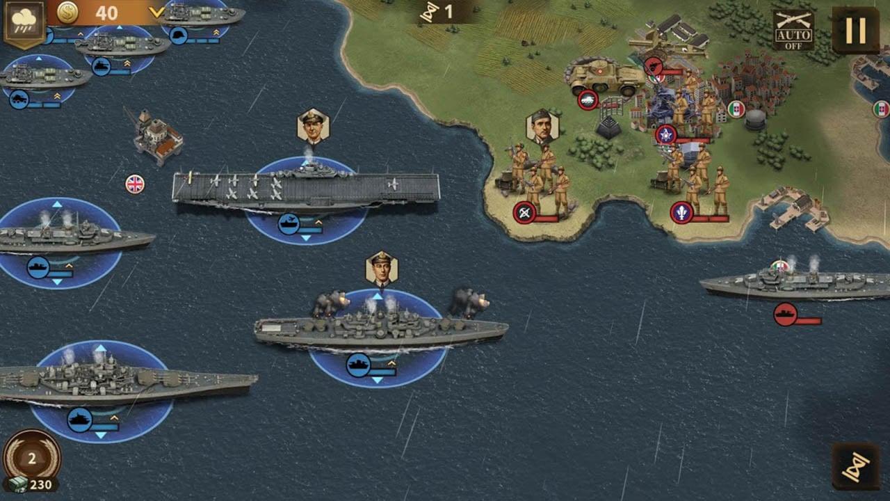 Glory of Generals 3 screen 3