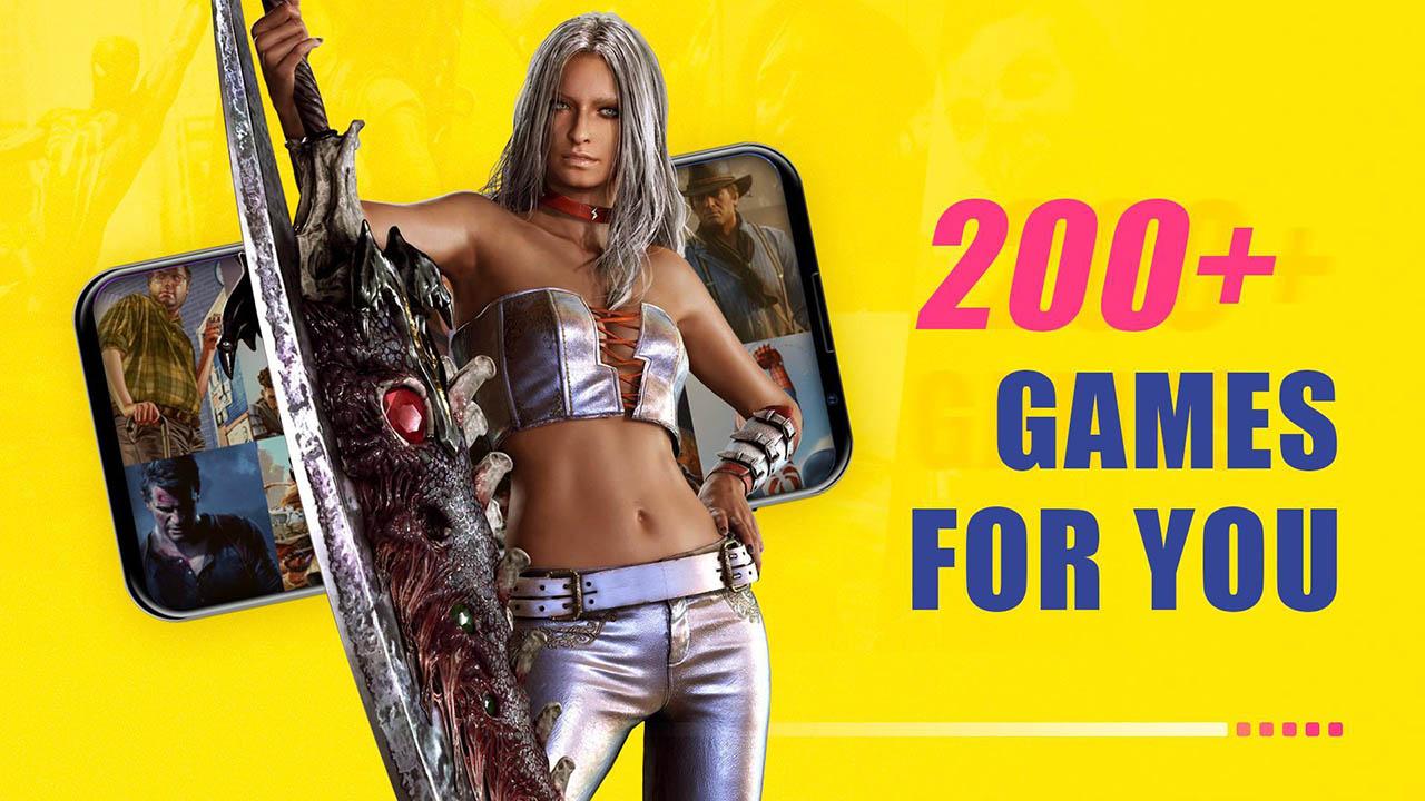 Gloud Games screen 2