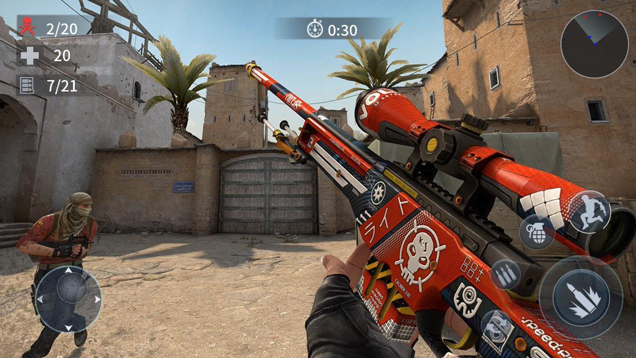 Gun Strike screen 0