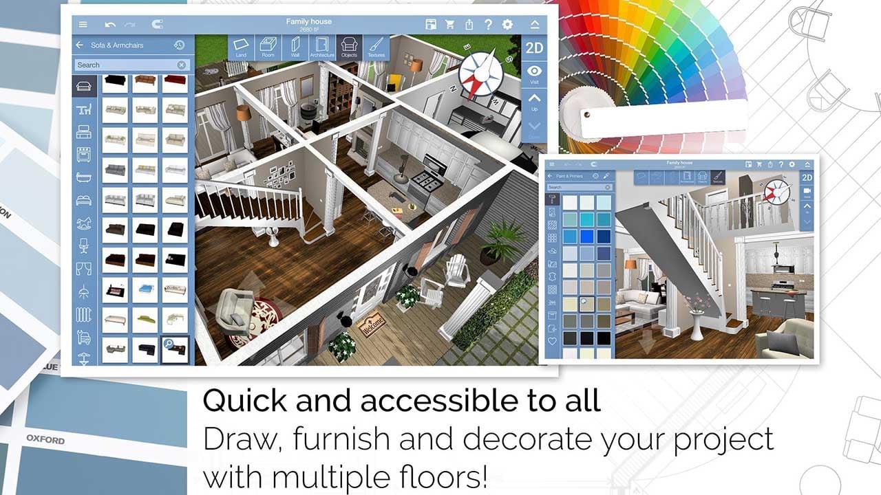Home Design 3D screen 1