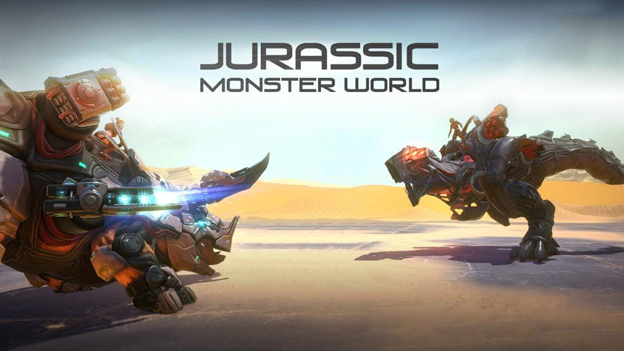 Jurassic Monster World poster