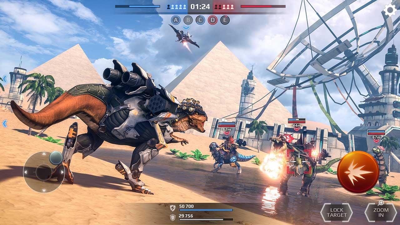 Jurassic Monster World screen 1