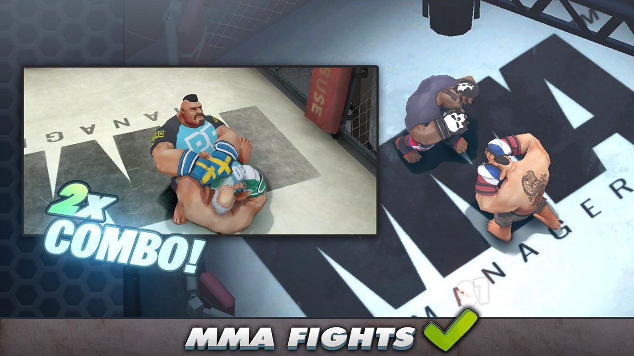 MMA Manager screen 1