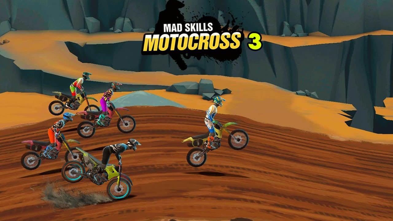 Mad Skills Motocross 3 poster