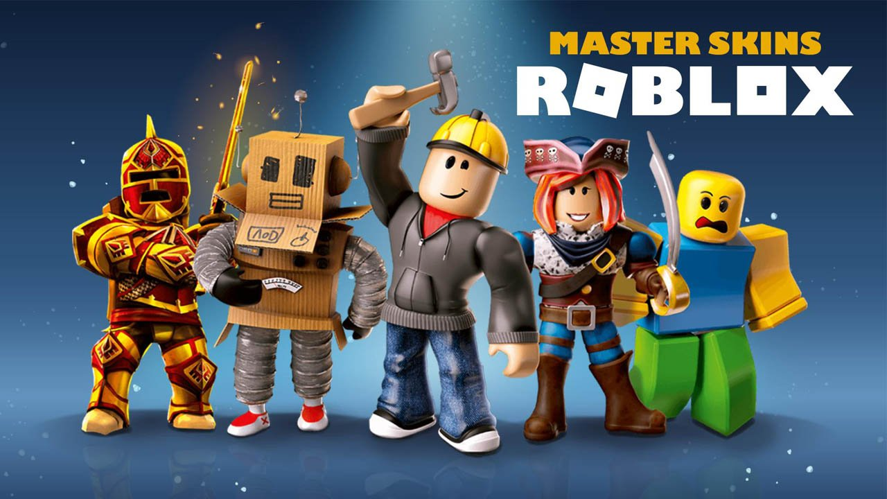 Master skins for Roblox poster
