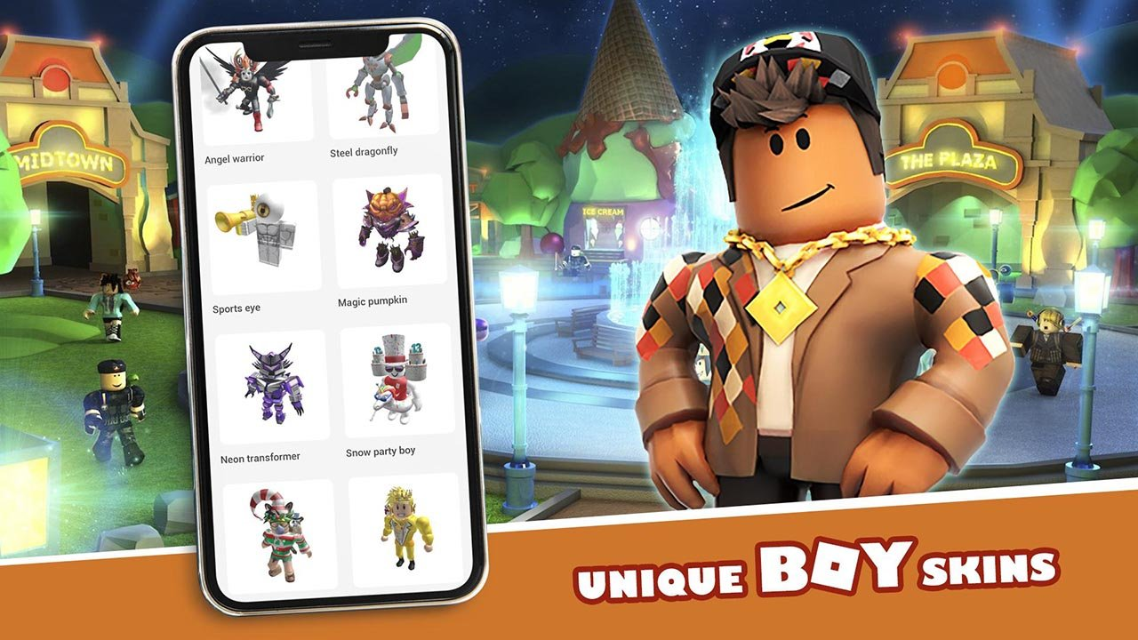 Master skins for Roblox screen 1