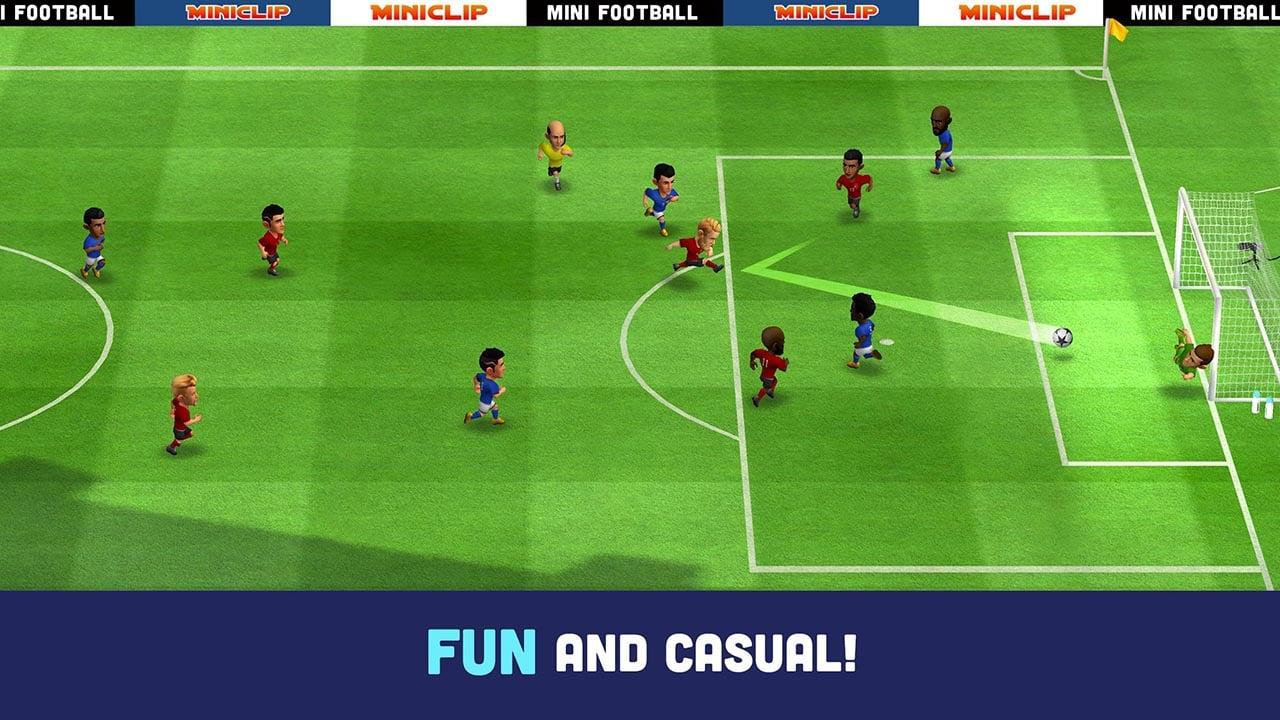Mini Football screen 0