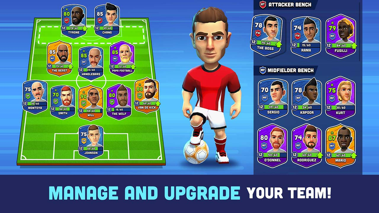 Mini Football screen 2