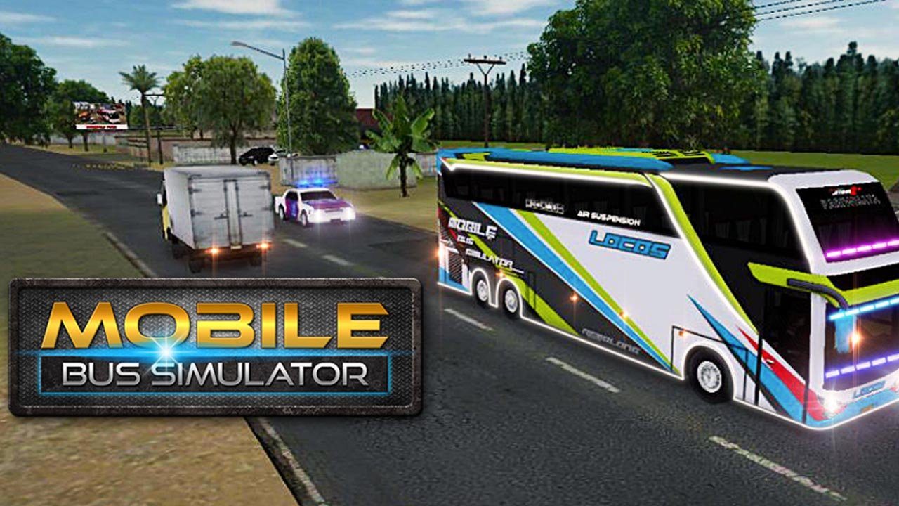 Mobile Bus Simulator poster