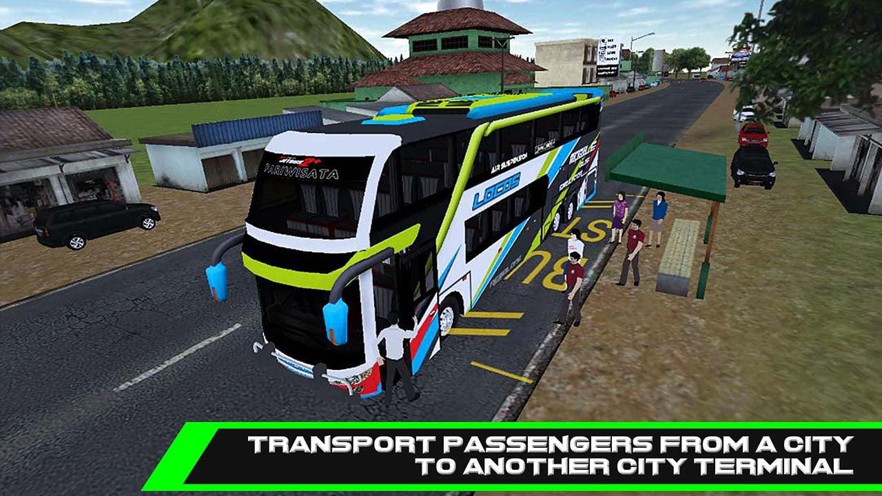 Mobile Bus Simulator screen 1