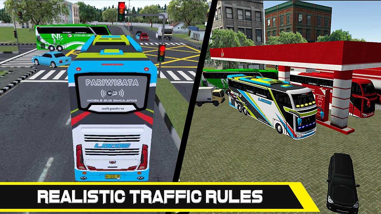 Mobile Bus Simulator screen 2