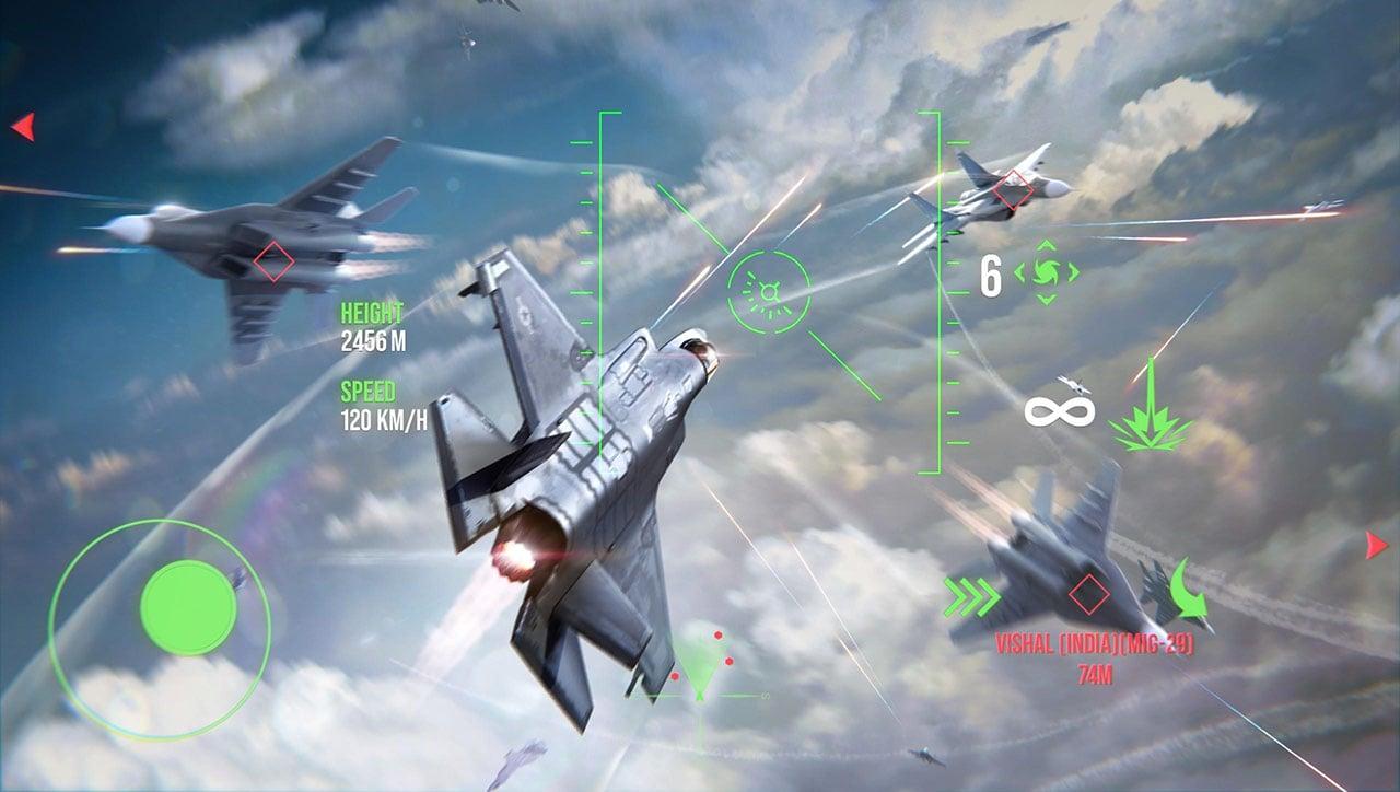 Modern Warplanes screen 3