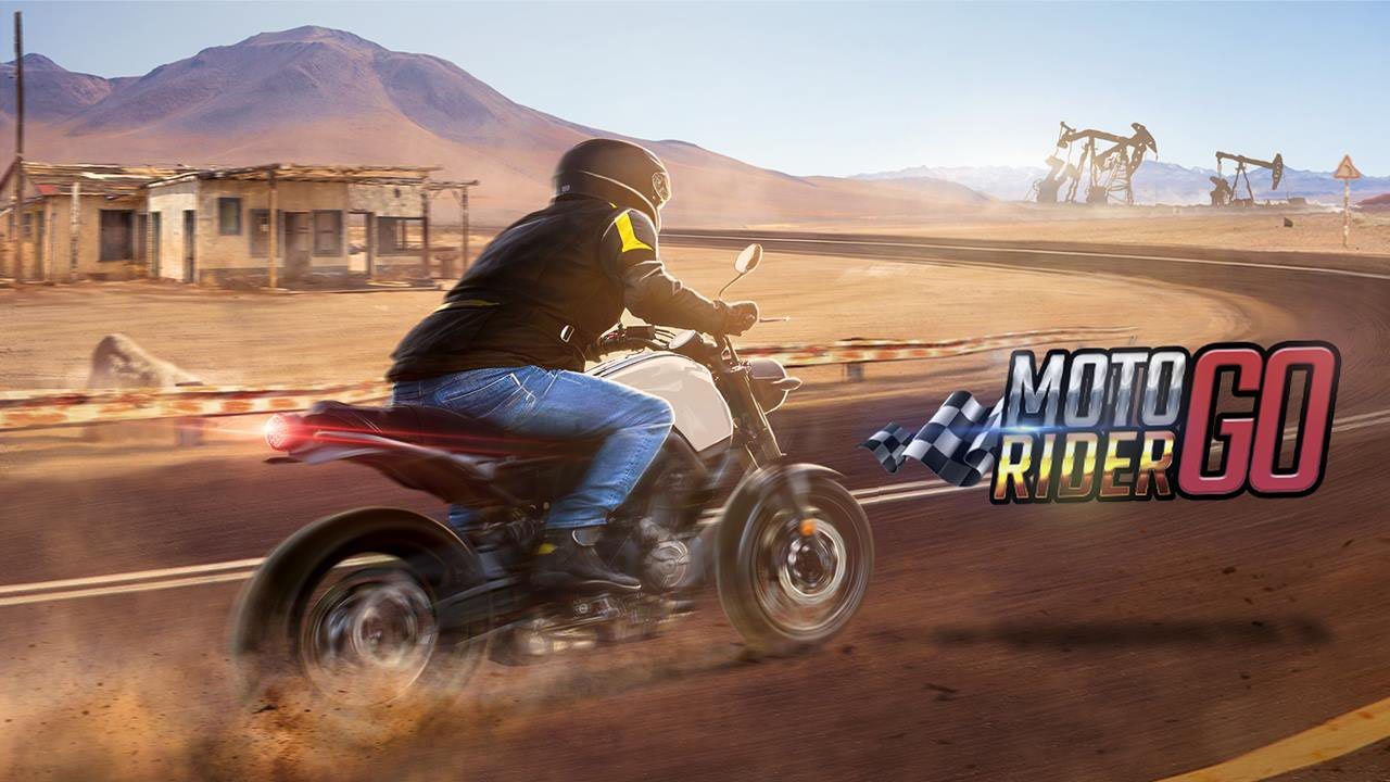 Moto Rider GO poster