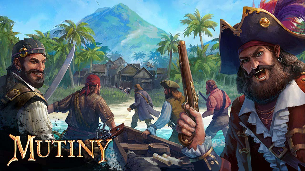 Mutiny Pirate Survival RPG poster