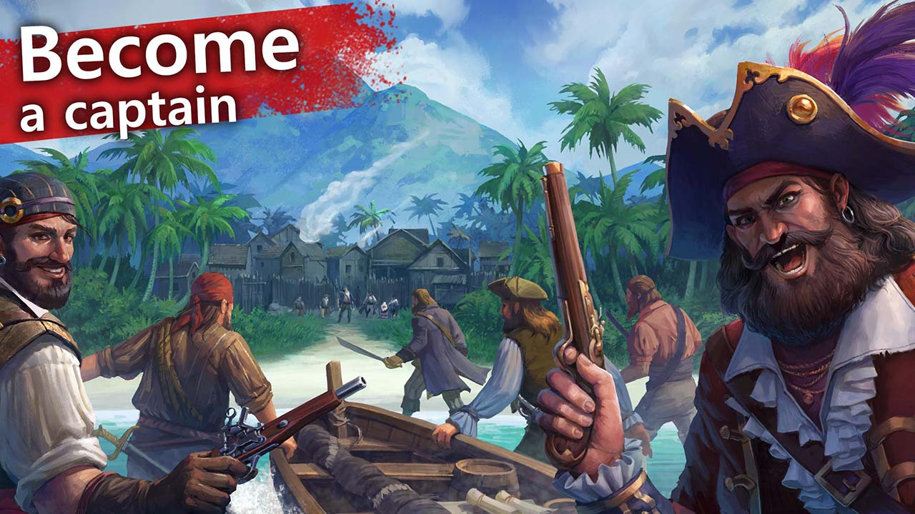 Mutiny Pirate Survival RPG screen 0