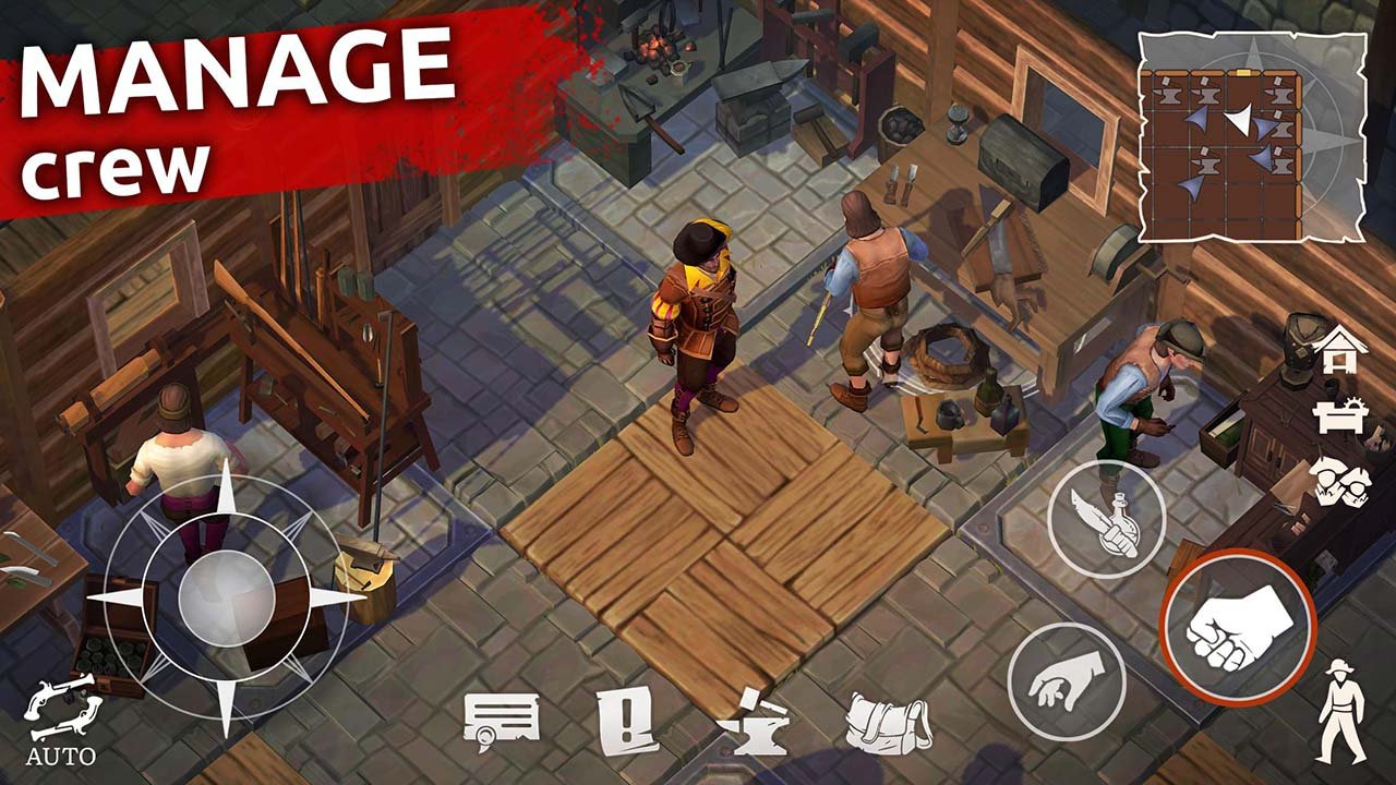 Mutiny Pirate Survival RPG screen 2