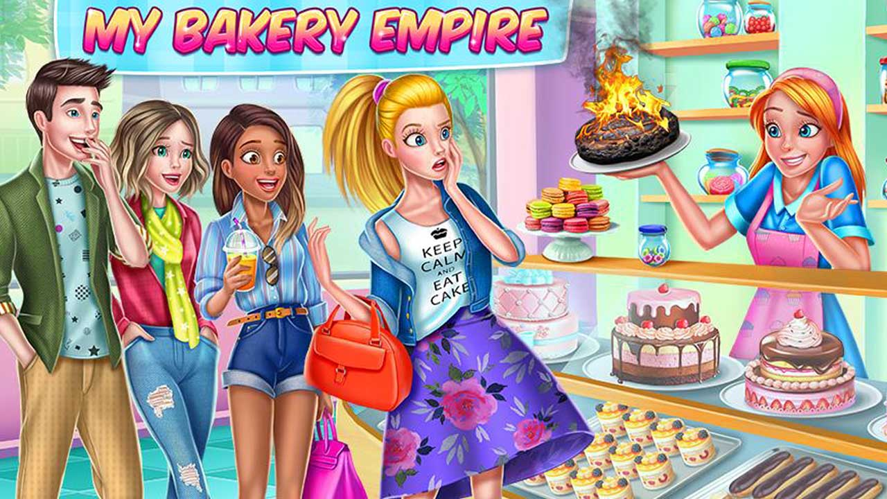 Tải Game My Bakery Empire MOD APK 1.2.4 (Unlimited Money) cho Android
