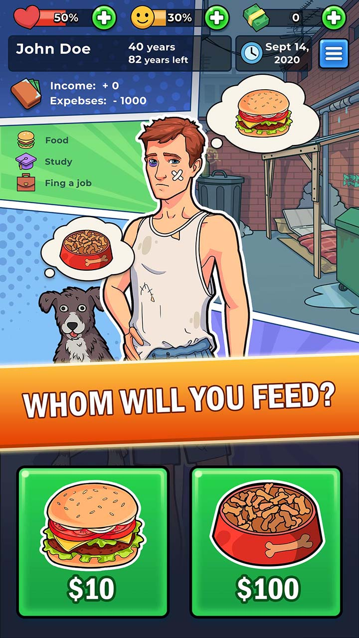 My Success Story business game screen 0