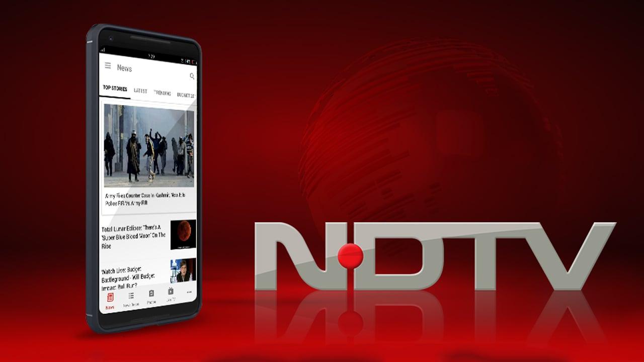 NDTV News India poster