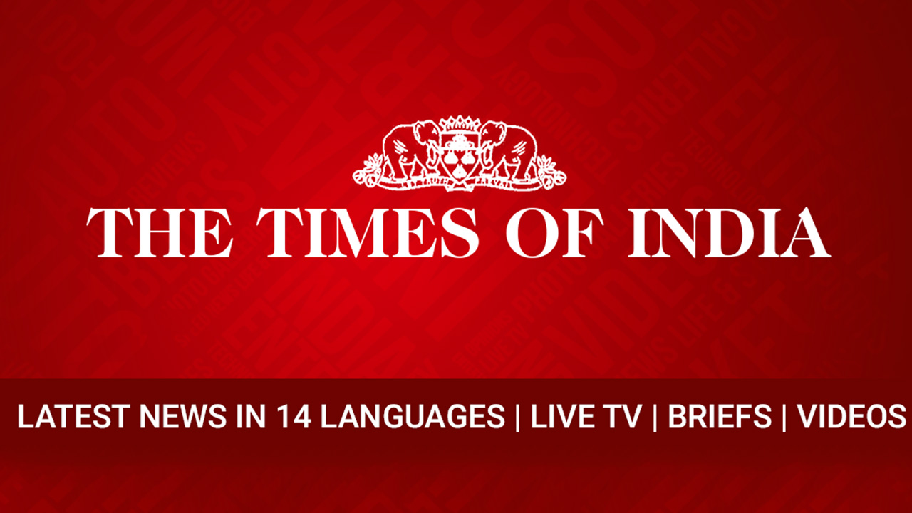 News by The Times of India Newspaper poster