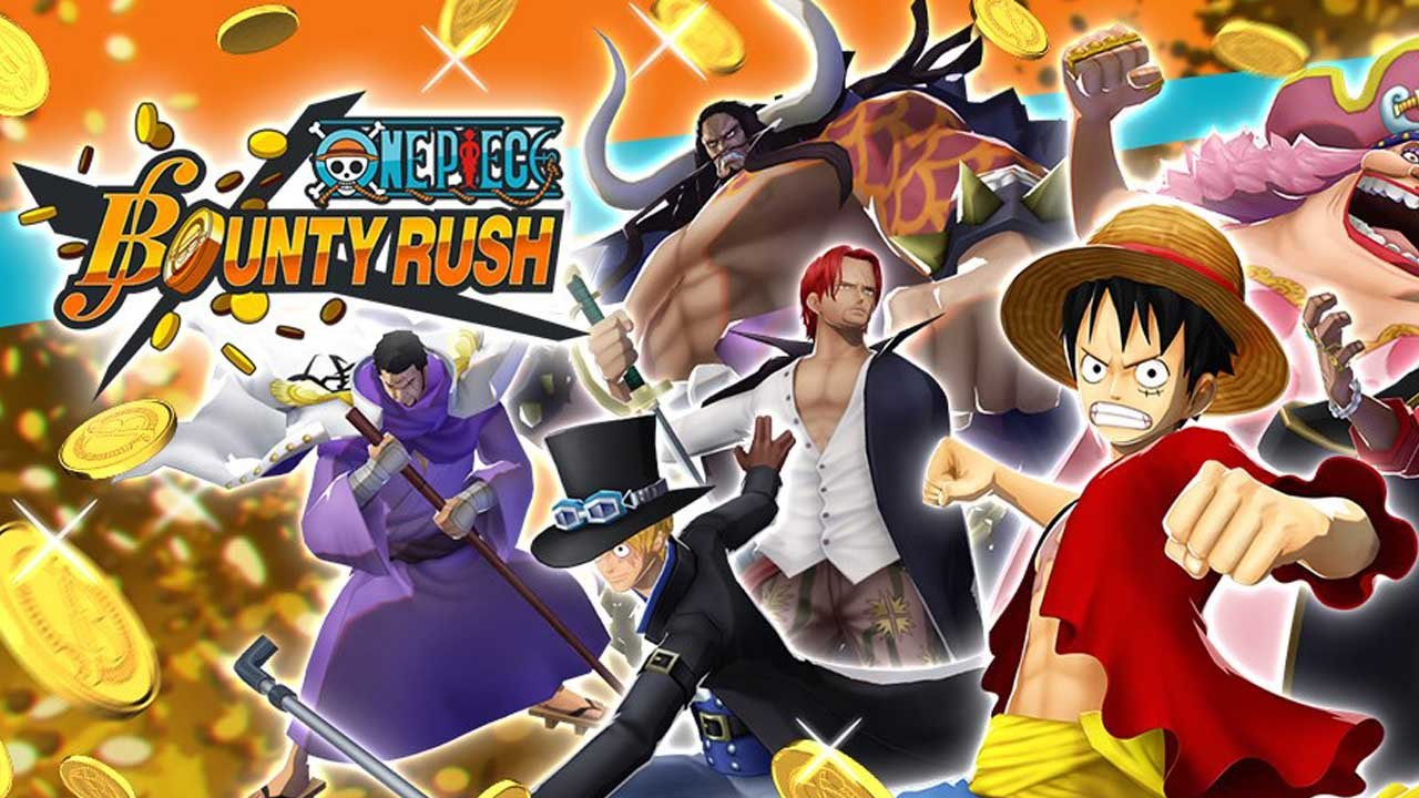 ONE PIECE Bounty Rush poster