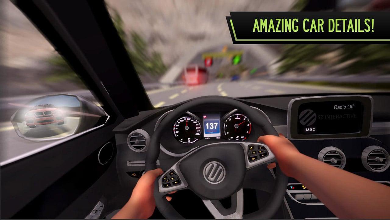 POV Car Driving screen 1