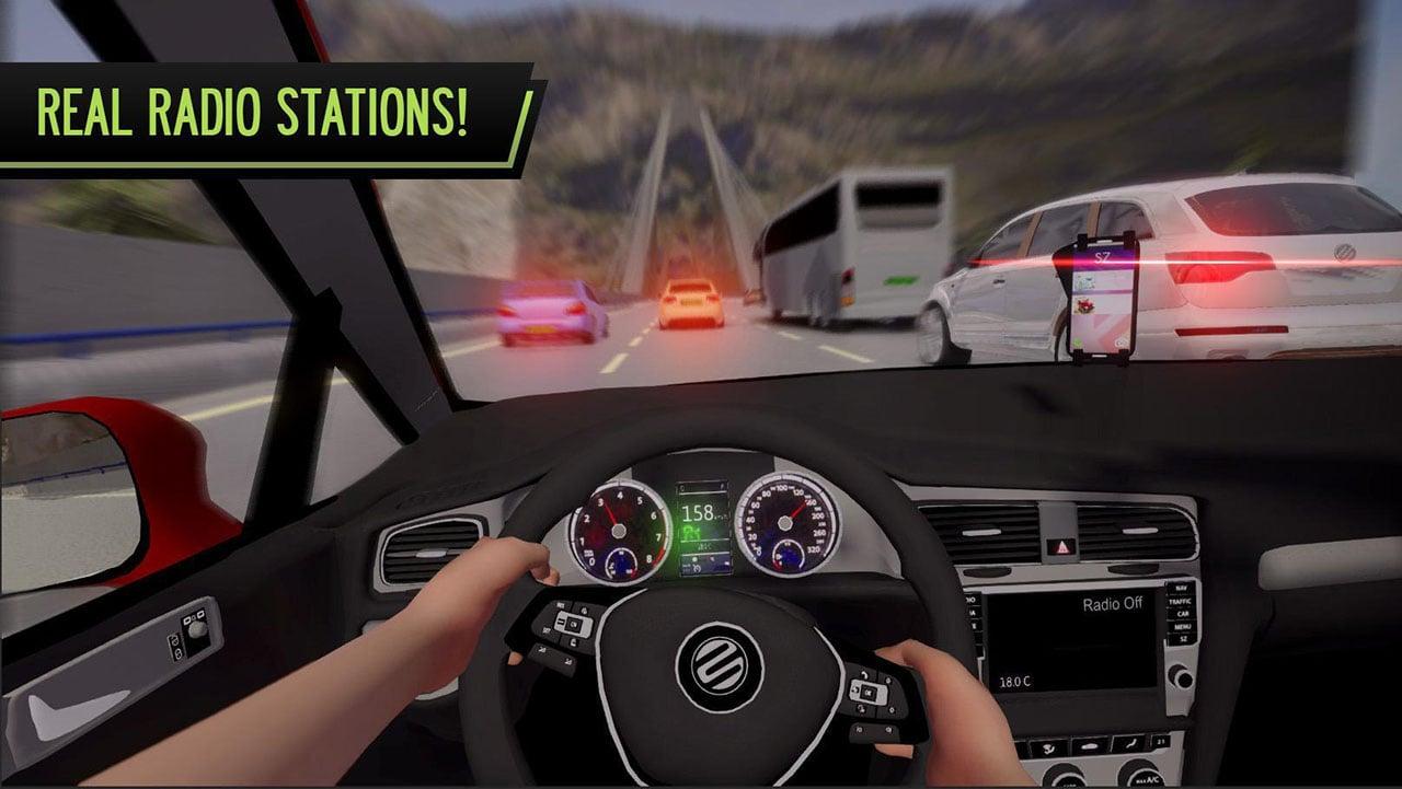 POV Car Driving screen 2