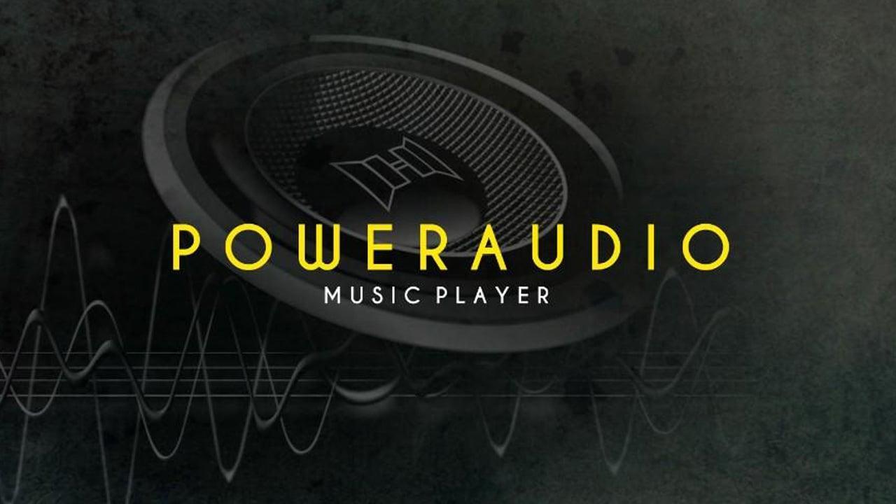 PowerAudio Pro Music Player poster