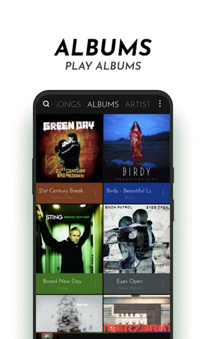 PowerAudio Pro Music Player screen 2