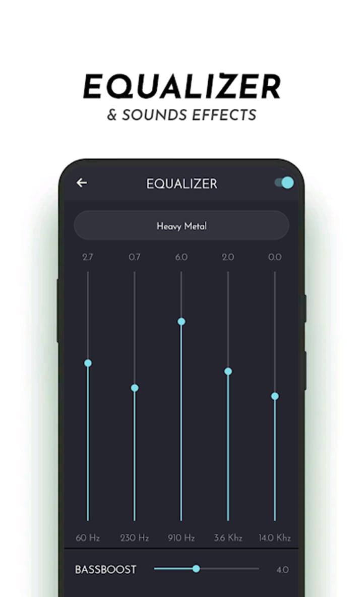 PowerAudio Pro Music Player screen 4