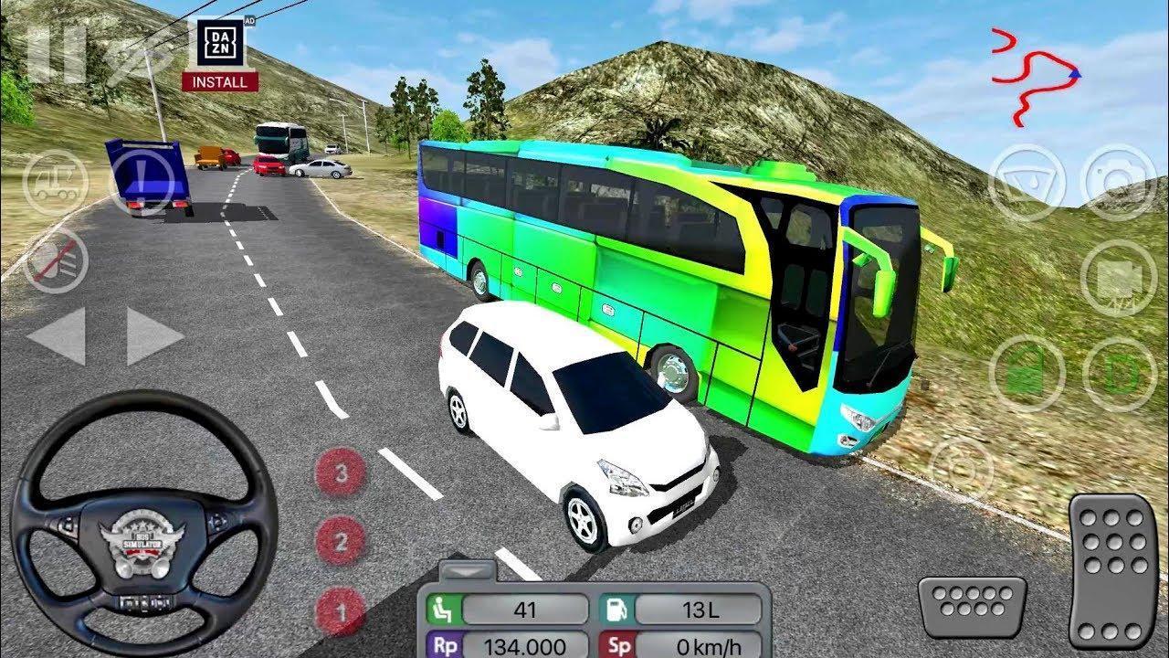 Public Coach Bus Driving Sim screen 1