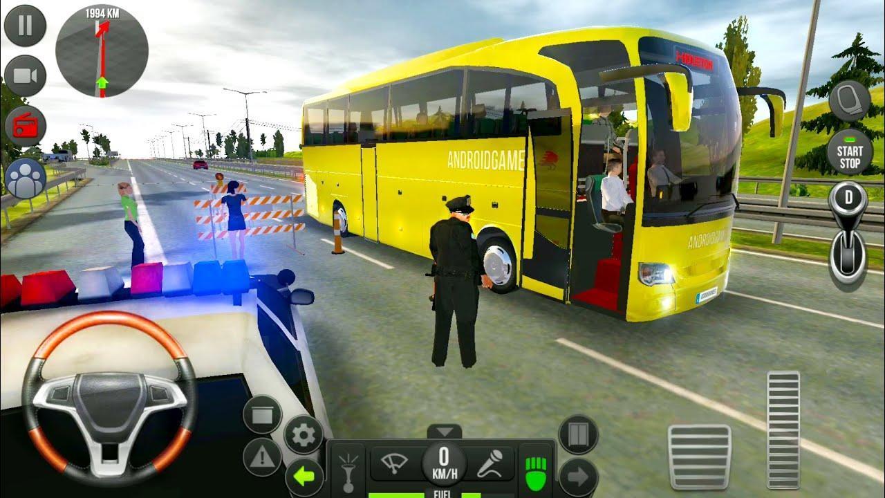 Public Coach Bus Driving Sim screen 4