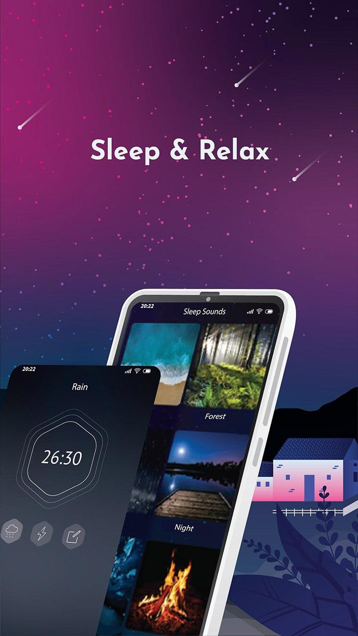 Sleep Sounds screen 1