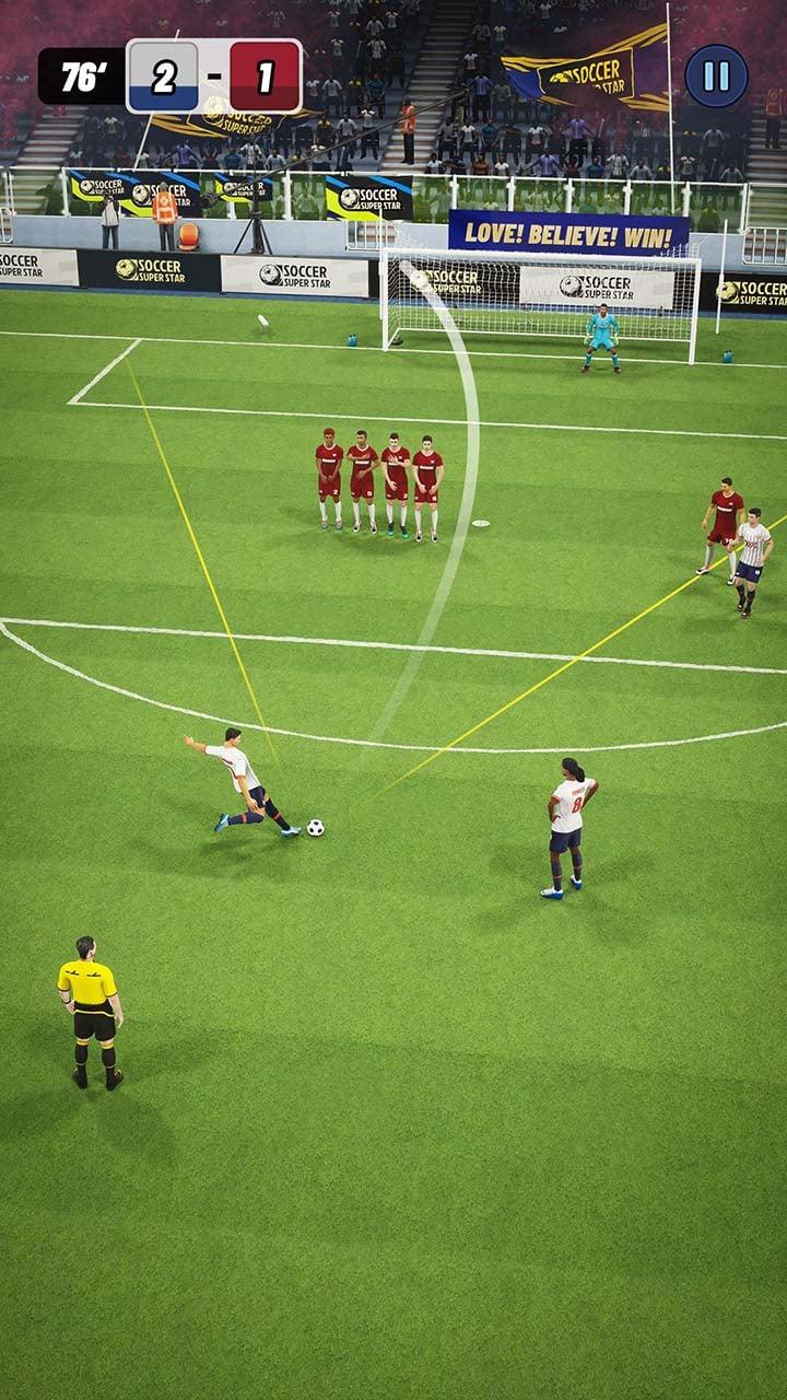 Soccer Super Star screen 0