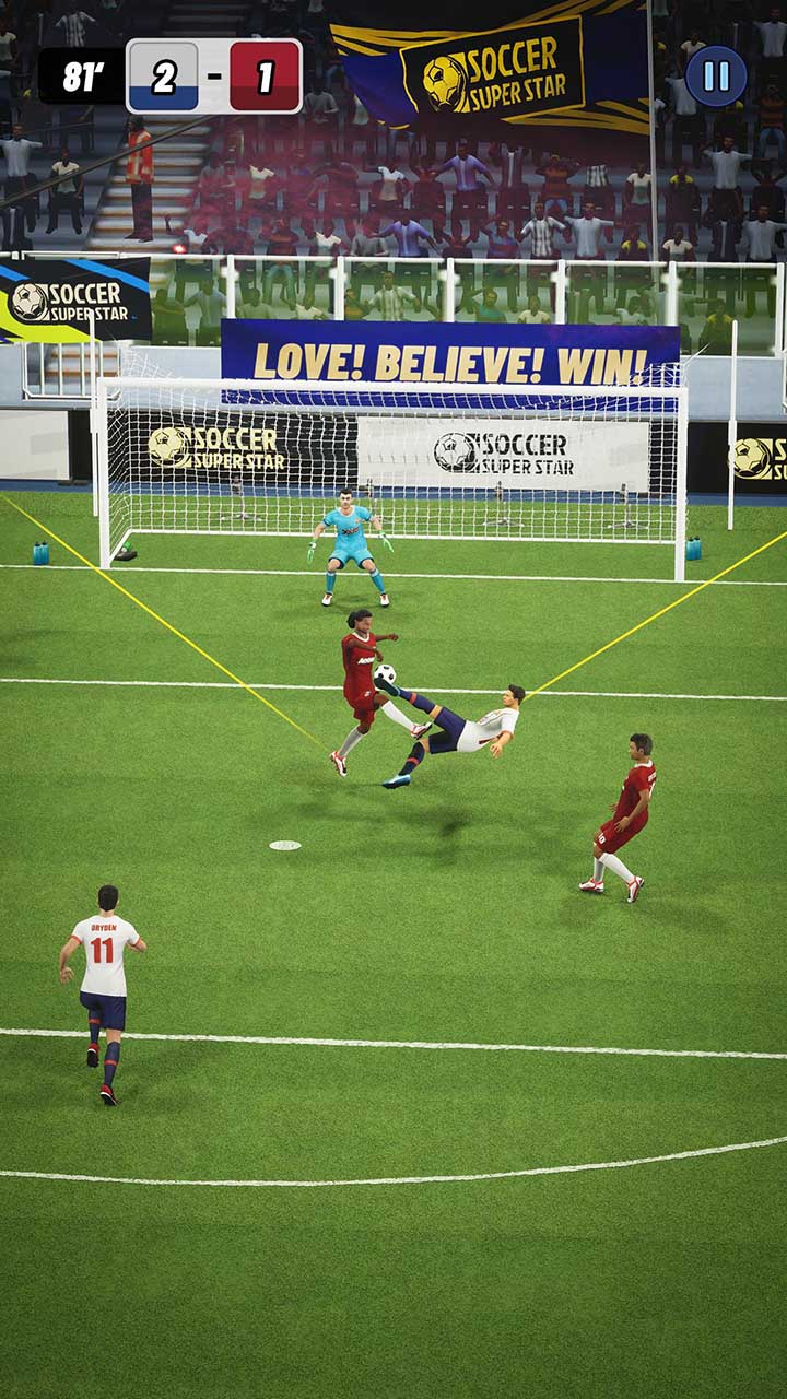 Soccer Super Star screen 1