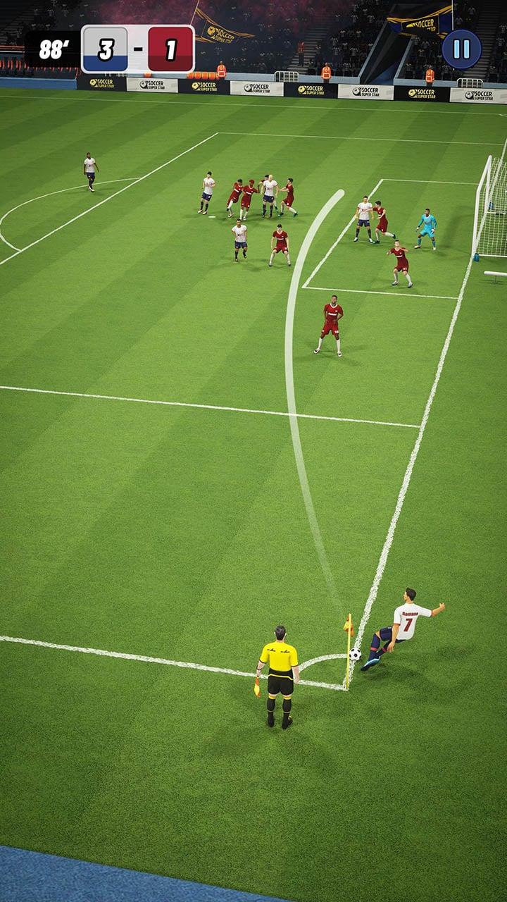 Soccer Super Star screen 2
